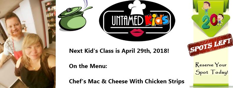 April Kids Class – Mac & Cheese